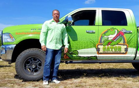 Owner with Gator Truck